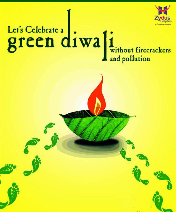 This #Diwali let's vouch towards spreading #joy instead of #noise! Let's celebrate a #GreenDiwali!