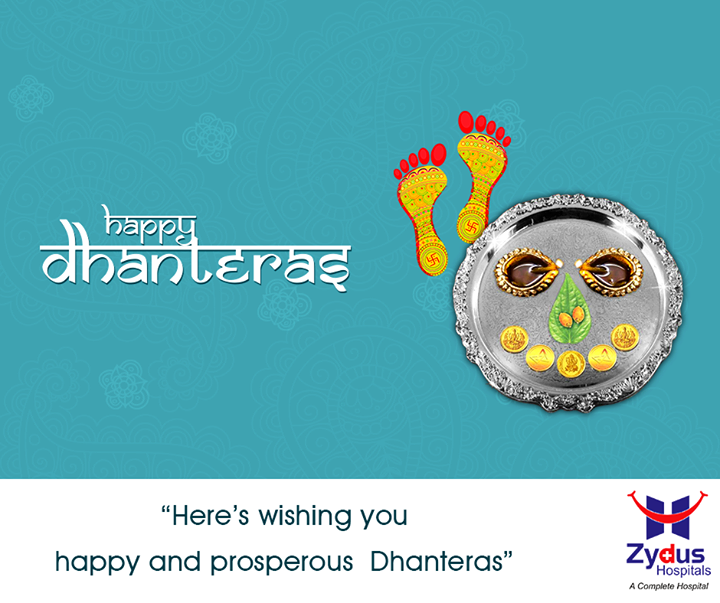 May the wealth of happiness, riches of prosperity adore you on this Dhanteras! #ShubhDhanteras