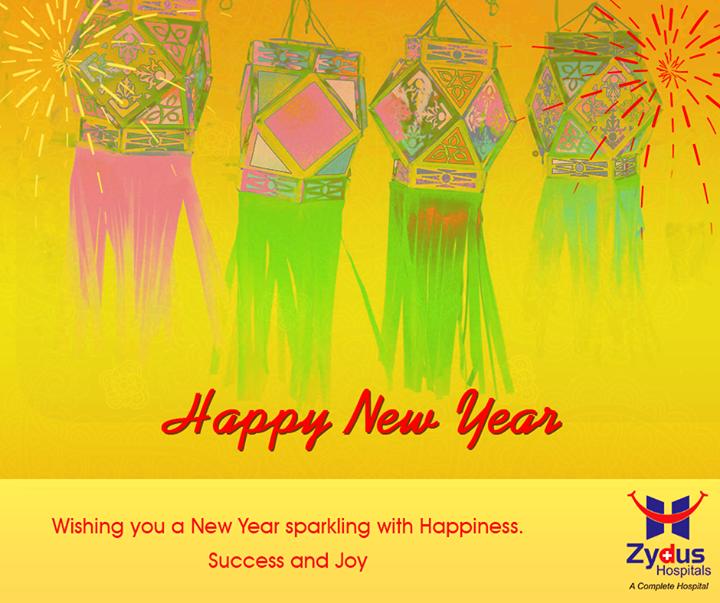 May you embrace the New Year with Hues of Happiness and Prosperity!  #HappyNewYear #FestiveWishes
