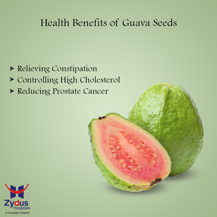Guavas contain plenty of iodine, fatty acids, essential nutrients and antioxidants that are known to carry multiple health benefits:  #ZydusHospitals #Ahmedabad #HealthTips #GoodHealth