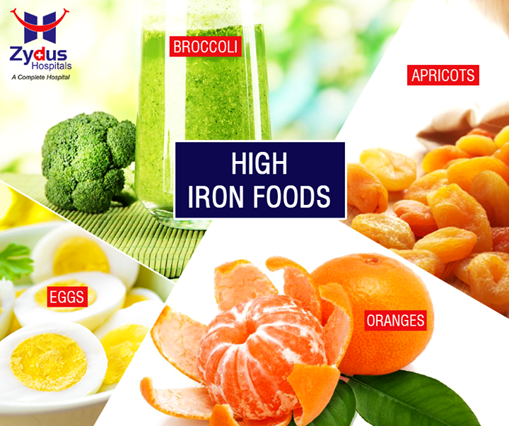 If your body doesn't have enough iron, your muscles won't be able to recover properly post workout. Insufficient iron intake can also cause fatigue and depression. Keep your energy levels high by chowing down on these iron rich foods:  #ZydusHospitals #GoodHealth #Ahmedabad