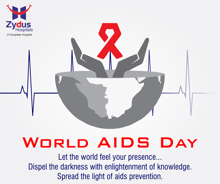 Let us go an extra mile to spread the word against HIV-AIDS. Let's make it possible.  #WorldAidsDay #ZydusHospitals #Ahmedabad