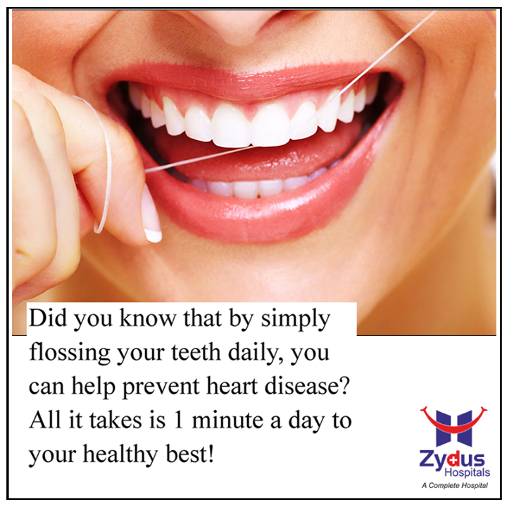 #DidYouKnow #SmallHabits can go a long way!  #HeartHealth #ZydusHospitals #Ahmedabad #HeartCare