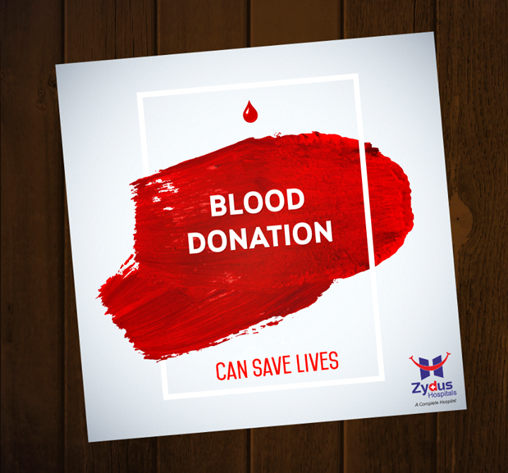 Become hero by donating blood.  #DonateBlood #SaveLives #ZydusHospitals