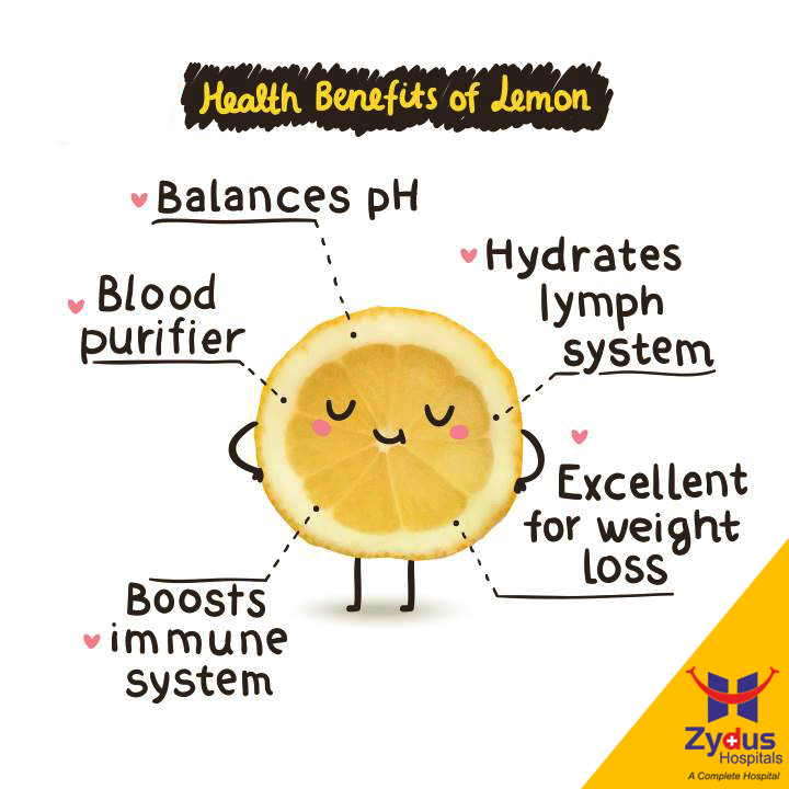 Saying that lemons are a #superfood is an understatement, abundant flavor to a variety of dishes, but they also boast a ton of health benefits.  #FoodBenefits #HealthBenefits #GoodHealth #ZydusHospitals #Ahmedabad