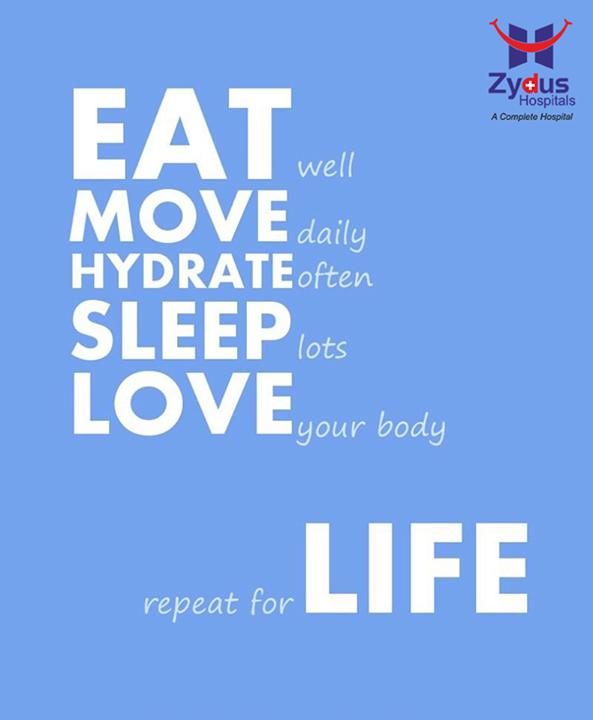 Ingredients for a #Healthy #NewYear !  #GoodHealth #ZydusHospitals #Ahmedabad