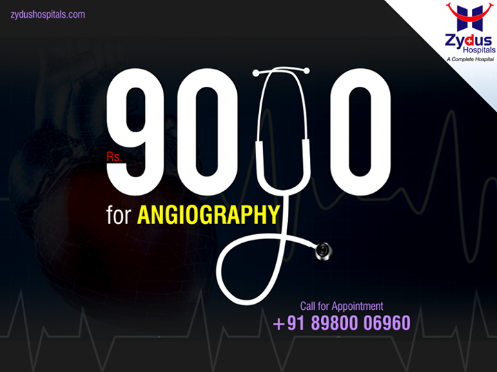 Planning for an #Angiography soon?   #HeartCare #ZydusHospitals #Ahmedabad