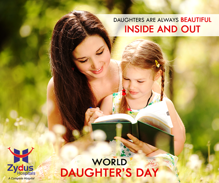 A daughter is a day brightener and a heart warmer! Celebrating the #Daughters in our life!   #WorldDaughtersDay