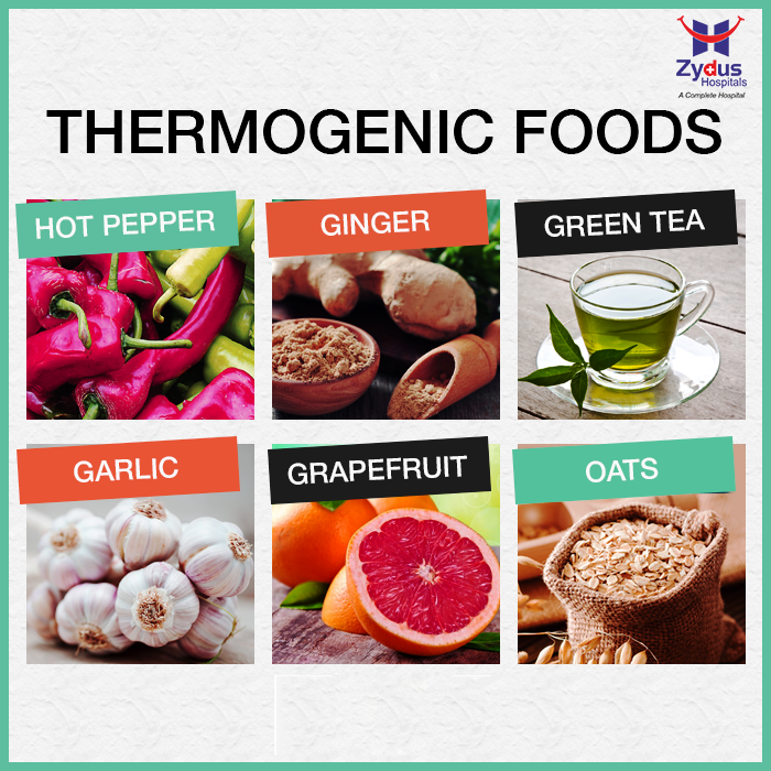 #DidYouKnow #Foodforhealth #ZydusHospitals #Ahmedabad  Thermogenic foods helps increase metabolism and calorie burning by enhancing thermogenesis, a process in which the body burns calories to utilize the foods you have eaten!