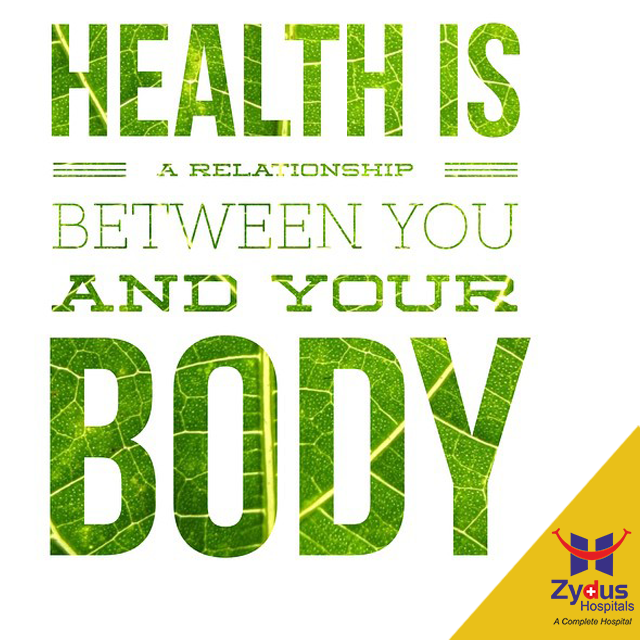 Being #healthy is a #lifestyle!   #Goodhealth #ZydusHospitals #Hospitals #CompleteCare