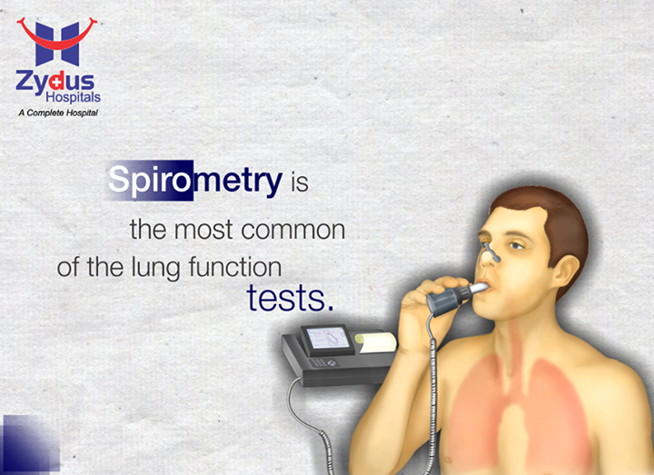 Spirometry (meaning the measuring of breath) measures how much and how quickly you can move air out of your lungs. For this test, you breathe into a mouthpiece attached to a recording device (spirometer). The information collected by the spirometer may be printed out on a chart called a spirogram.  #LungFunctionTest #Spirometry #Health #ZydusHospital #Ahmedabad