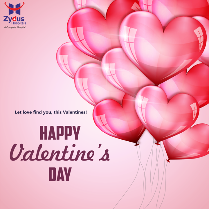 This #Valentines, celebrate the ones you love! #HappyValentinesDay from Zydus Hospitals !