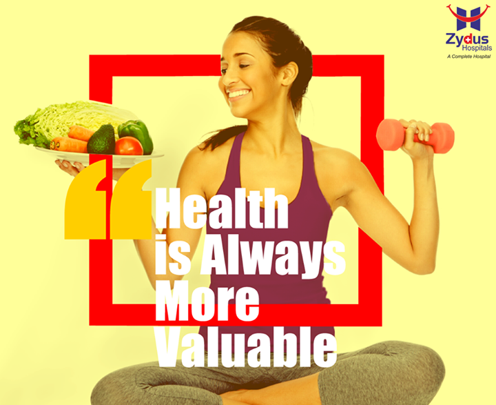 So many people spend their health gaining wealth, and then spend their wealth to regain their health  What about you?  #HealthisWealth #StayFit #MondayMotivation #ZydusHospitals #Ahmedabad