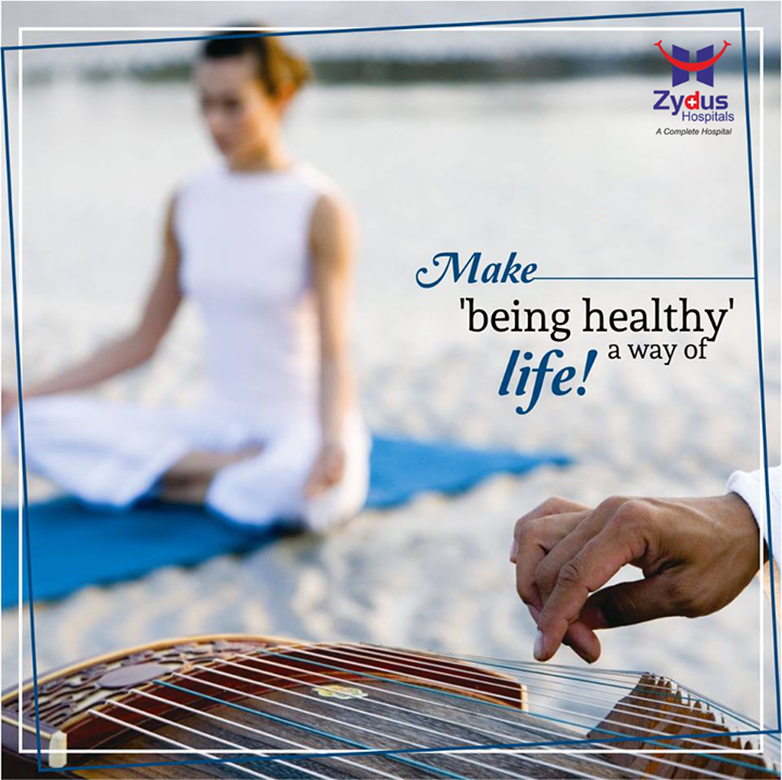 Being healthy shouldn't be your goal, it should be your lifestyle!  #StayHealthy #BeHealthy #FitnessGoal #MondayMantra #WiseWords #ZydusHospitals #Ahmedabad