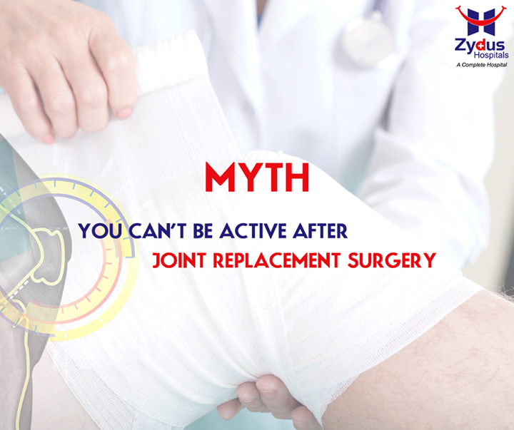 #Myths VS #Facts   #FACT: Joint replacement with