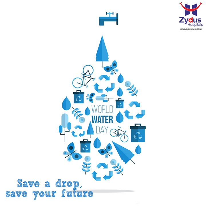 Save water and save the life on the earth.  #WorldWaterDay #SaveWater