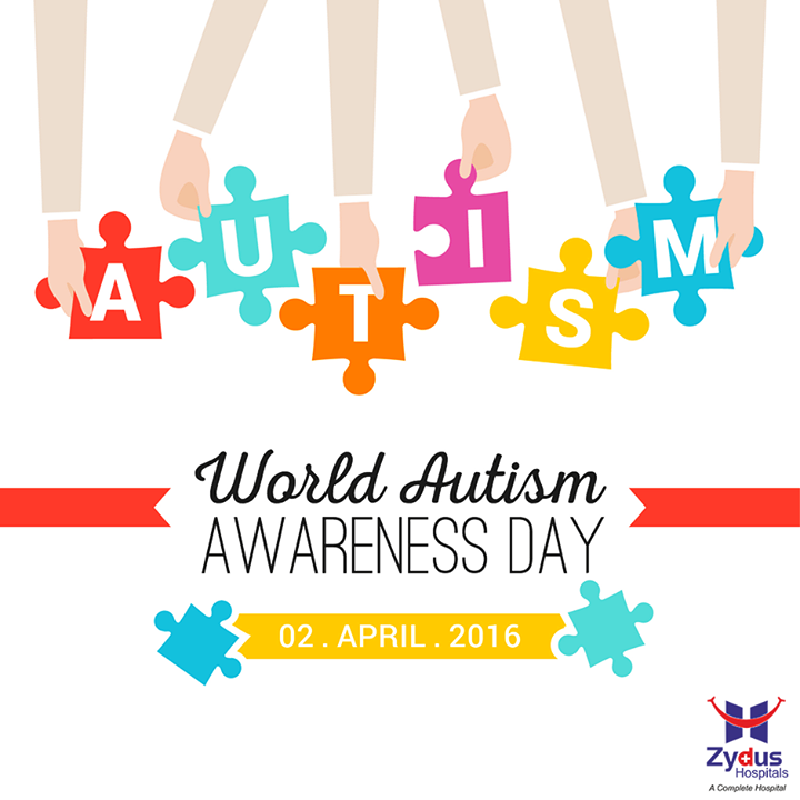 Let's #LightItUpBlue and stand to support for autism awareness.   #WorldAutismAwarenessDay #ZydusHospitals #Ahmedabad