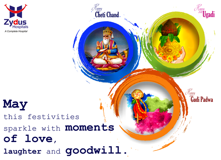 Best wishes for a wonderful festivities and a new year filled with peace and happiness.  #HappyGudiPadwa #HappyUgadi #HappyChetiChand #ZydusHospitals