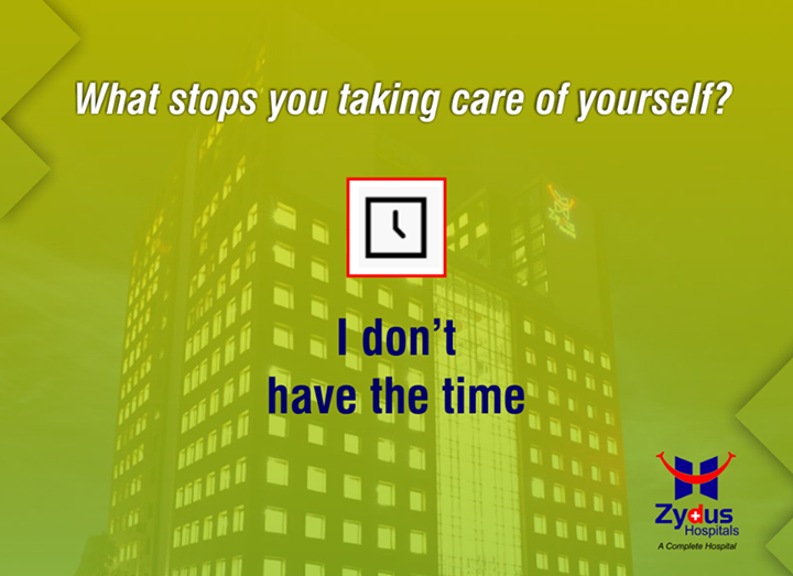 Reasons that we commonly use to not care about our health! What's yours? This #Summers Zydus Hospitals urges you to get a health check-up done & implement #GoodHealth!   #WeSupportHealth #GoodHealth #Ahmedabad #Hospitals