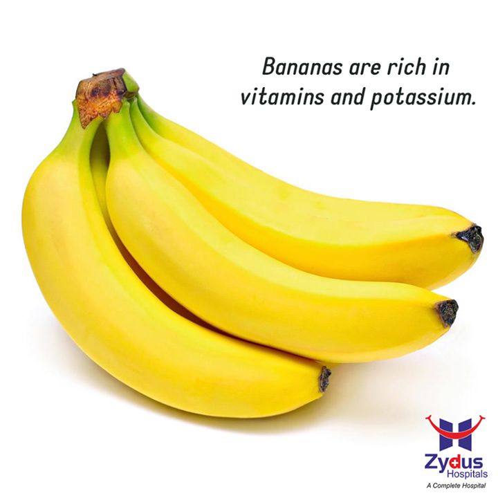 #DidYouKnow  Diarrhea can drastically reduce the body's energy level, making a person feel lethargic and sick. The best way to recover from this medical condition is by increasing the consumption of bananas. Bananas are rich in vitamins and potassium. It gives instant relief from an upset stomach and boosts energy levels.   #HealthCare #GoodHealth #Ahmedabad #ZydusHospitals