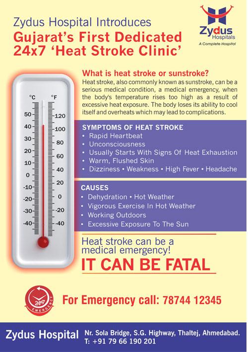 #HeatStroke #Summers #HealthCare #ZydusHospitals #Ahmedabad