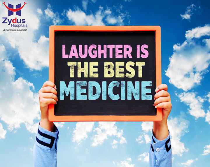 #Laugh a little today!   #ZydusHospitals #Ahmedabad #GoodHealth