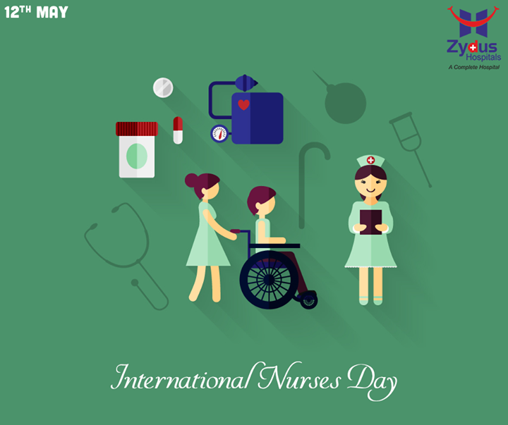 We would like to take this opportunity to thank all our nurses for their dedication and commitment towards patients.  #InternationalNursesDay #ZydusHospitals #Ahmedabad