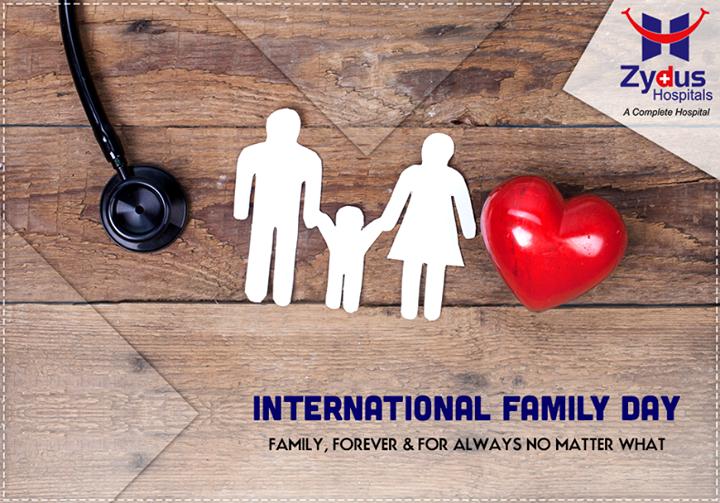 A #healthy family is a #HappyFamily! Here's wishing everyone a very Happy #InternationalFamilyDay!
