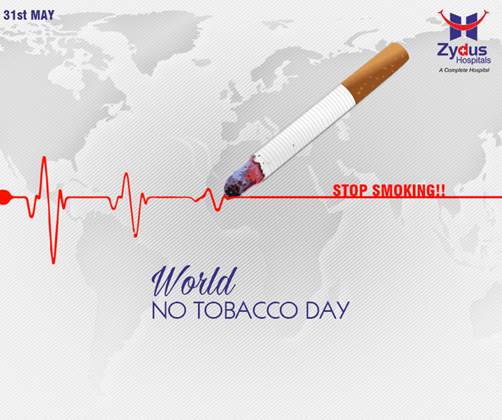 Let's make every day a No Tobacco Day, Celebrate Life & say no to tobacco!  #WorldNoTobaccoDay #ZydusCares #ZydusHospitals