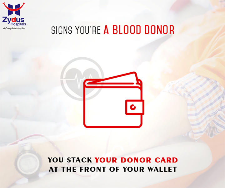 Being a #BloodDonor is a pride that many people possess . Are you a proud blood donor too? With the launch of our Blood Bank at Zydus Hospitals, you can be 1 too. Experience the joy of gifting someone a life.  #BloodBank #ZydusHospitals #ZydusCares #Ahmedabad