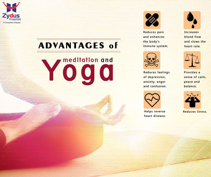 Take care of your body & mind, experience the healing effects of #Yoga!   #ZydusHospitals #ZydusCares #Ahmedabad #InternationalYogaDay
