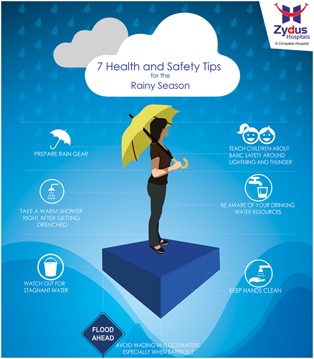 Here are common health practices that we could all do to avoid diseases during #Monsoon.  #HealthCare #ZydusHospitals #Ahmedabad