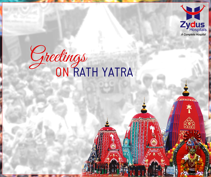 Greetings on #Rathyatra from Zydus Hospitals!  #FestiveGreetings #FestivalsOfIndia #ZydusHospitals #Ahmedabad