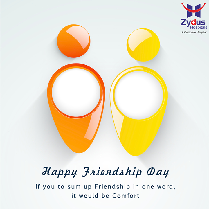 Zydus Hospitals wishes you all a very happy #FriendshipDay!  #ZydusHospitals #Ahmedabad
