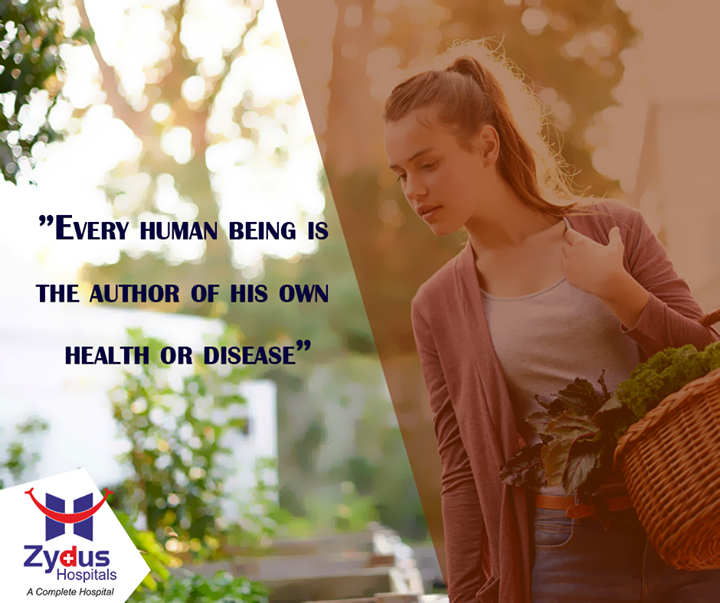 So let's move towards good health.  #HealthQuotes #Monday #ZydusHospitals #Ahmedabad
