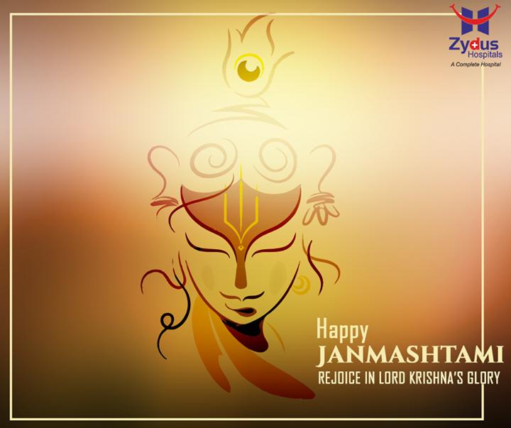 Warm wishes on the joyous festival of #Janmasthami from Zydus Hospitals !