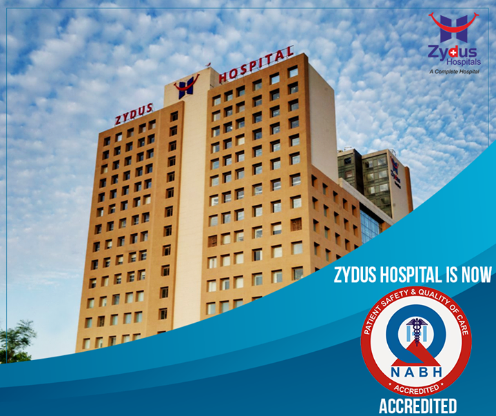 ** Proud moment for Zydus Hospitals **   We are now #NABH accredited!  #ZydusHospital #Ahmedabad #Accreditions