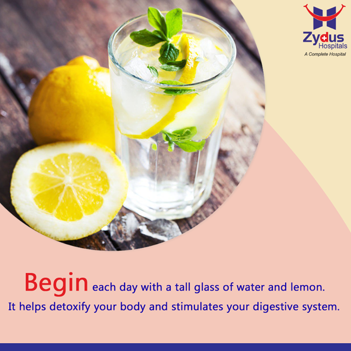 Here is a simple life altering doable tip for everyone to start your day the healthy way!  #HealthTip #HealthCare #ZydusHospitals #Ahmedabad