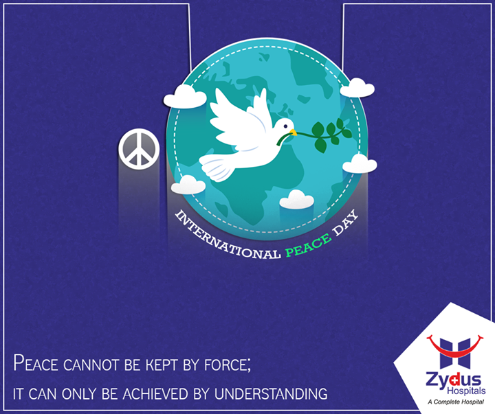 Let make prevail, this #InternationalPeaceDay!   #ZydusHospitals #Ahmedabad #PeaceDay #Peace