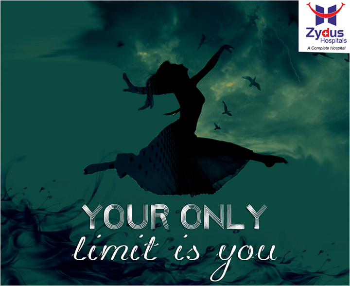 No Limits, No Fear, No Excuses. No is a complete sentence to your healthy life!  #ZydusHospitals #Ahmedabad #FitterYou #ZydusCares