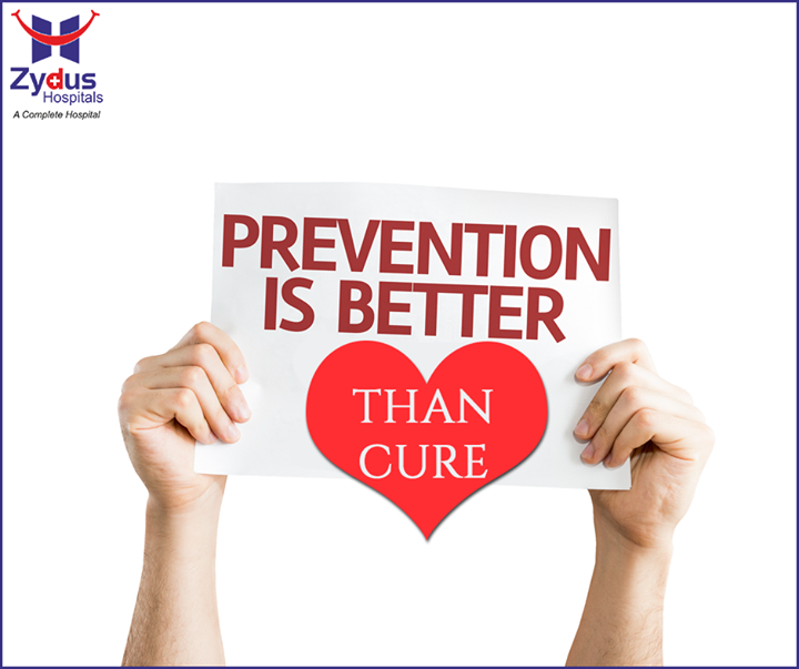No matter what your age, everyone can benefit from a healthy diet and adequate physical activity. Here's what you can do to prevent heart disease.  1. Choose a healthy eating plan.   2. Be physically active 3. Know your family history 4. Tame your stress. 5. Have your blood sugar level checked 6. Watch your weight 7. Don't brush off snoring  #HealthyHeart #HealthCare #ZydusHospitals #Ahmedabad