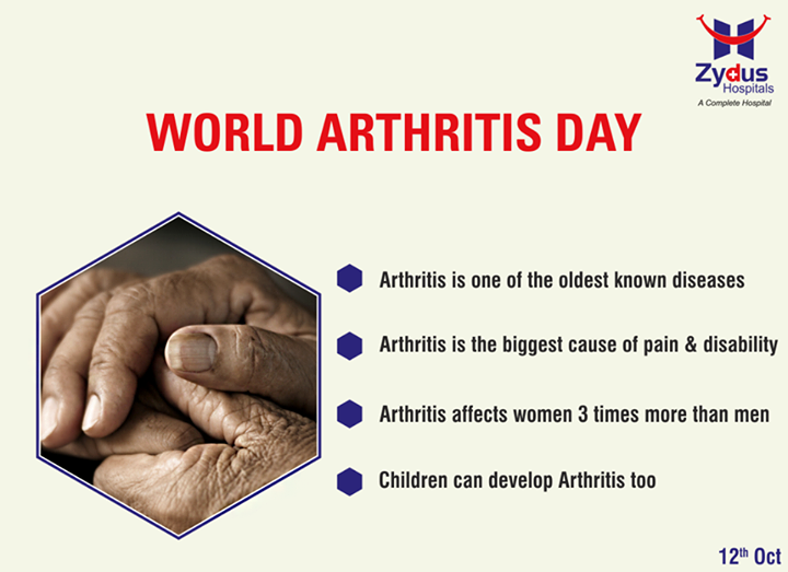 Arthritis is serious - it can be life-altering. Let us raise awareness about severity of arthritis on this #WorldArthritisDay!  #ZydusHospital #Ahmedabad