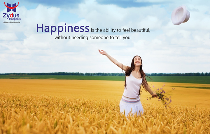 Stay Happy, Stay Positive, Stay Beautiful!  #HealthQuotes #MondayMotivation #ZydusHospitals #Ahmedabad