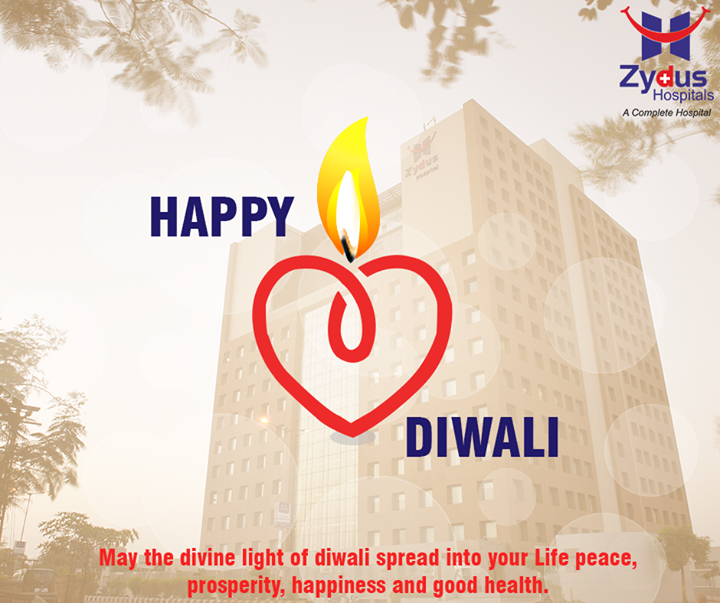 Let the lights of Diwali illuminate the year ahead.  #HappyDiwali #Diwali #ZydusHospitals #Ahmedabad