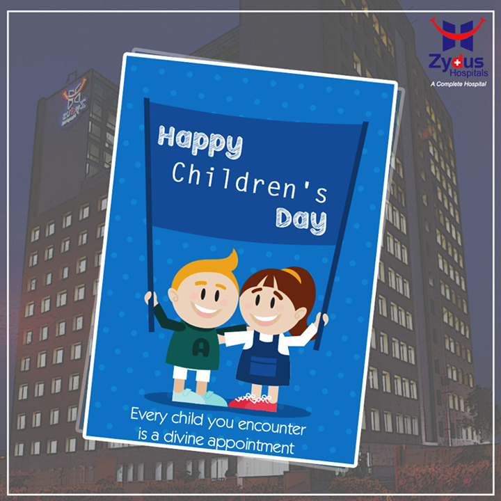 A very happy #Childrensday to all from Zydus Hospitals !