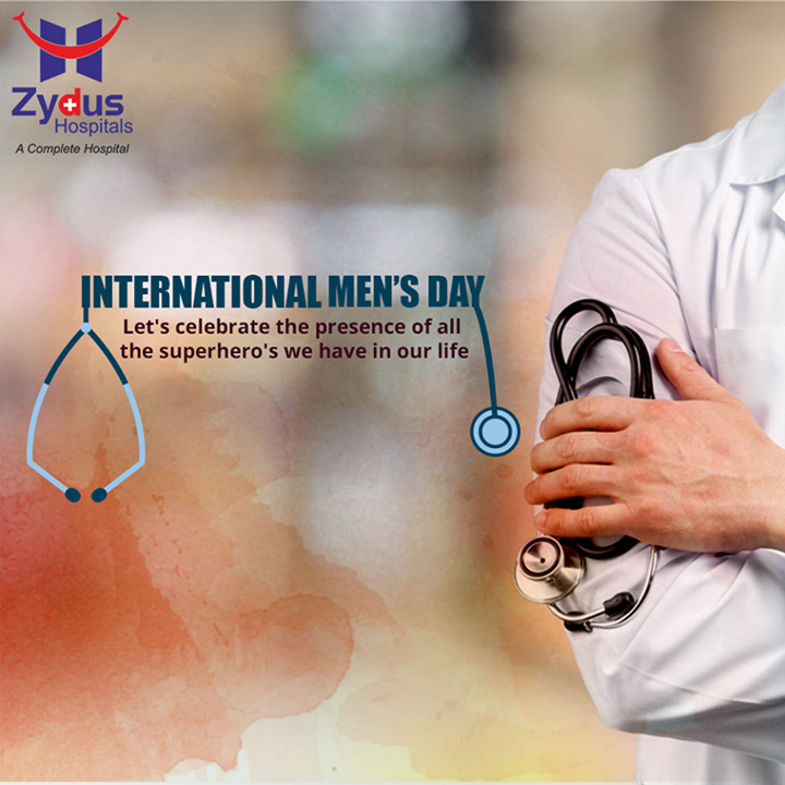 Let's celebrate the presence of all the Superhero's in our lives! Happy #InternationalMensDay!