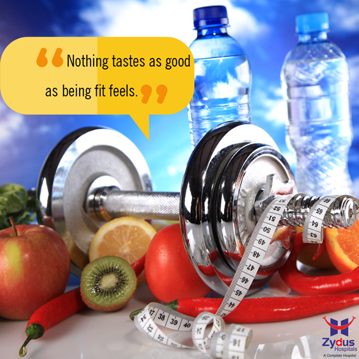 Here's to better habits, positive thinking, clean eating and most of all loving yourself  #HealthCare #ZydusHospitals #Ahmedabad