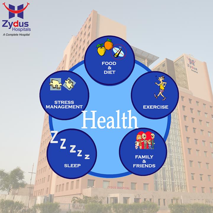 || Appreciate the value of #GoodHealth ||  #HealthCare #ZydusHospitals #Ahmedabad