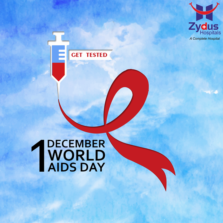 This #WorldAidsDay let's spread awareness, love, and empathy.  #ZydusHospitals #Ahmedabad #Gujarat #AidsDay
