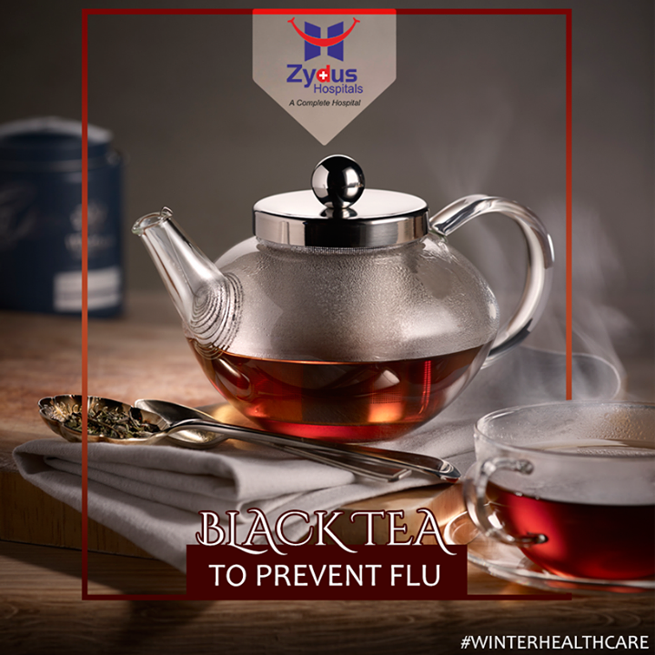 There's no doubt that #BlackTea is the best choice for winter, for it is warm-natured and can help to warm and nourish our stomach. Besides, black tea has the effects of mind refreshing and fatigue relief, it also promotes the secretion of saliva and has a diuretic effect.   #WinterHealthCare #WinterCare #ZydusHospitals #Ahmedabad